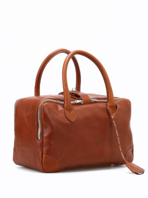 Golden Goose: bowling bags online - Equipage leather handbag