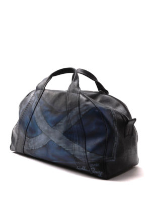 Golden Goose: bowling bags online - Printed leather bowling bag