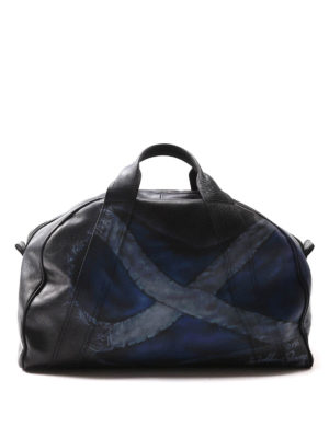 Golden Goose: bowling bags - Printed leather bowling bag