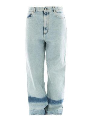 Golden Goose: Boyfriend - Stone wash bleached boyfriend jeans
