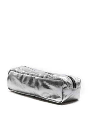 Golden Goose: Cases & Covers online - Silver-tone nappa Butter Bag