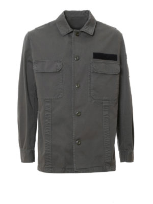 Golden Goose: casual jackets - Cotton military jacket
