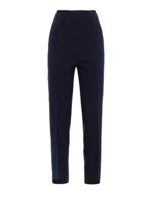 Golden Goose: casual trousers - Golden contrasting piping chinos