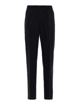 Golden Goose: casual trousers - Lyman black cotton trousers