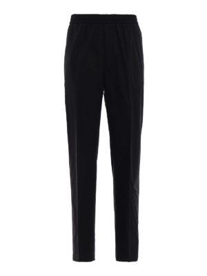 Golden Goose: casual trousers - Lyman black cotton trousers