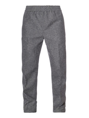 Golden Goose: casual trousers - Lyman cotton and wool trousers