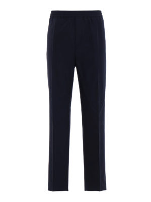 Golden Goose: casual trousers - Lyman cotton blend trousers