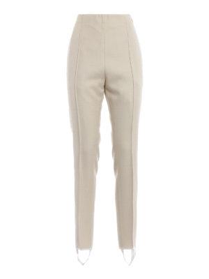 GOLDEN GOOSE: pantaloni casual - Pantaloni Maya in misto lana