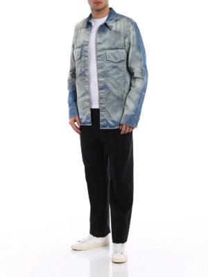 Golden Goose: casual trousers online - Lyman black cotton trousers