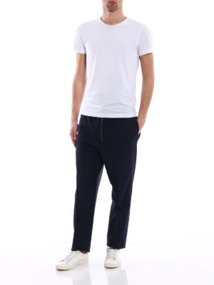 Golden Goose: casual trousers online - Lyman cotton blend trousers