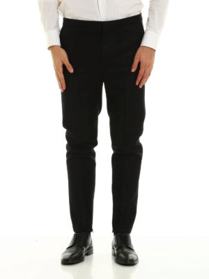 Golden Goose: casual trousers online - Wool flannel trousers