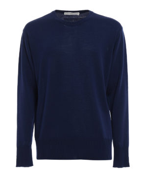 Golden Goose: crew necks - Lloyd merino sweater