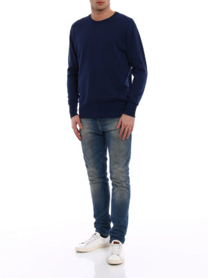 Golden Goose: crew necks online - Lloyd merino sweater