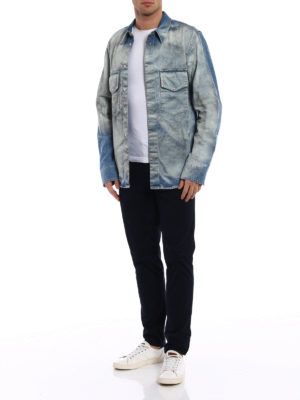 Golden Goose: denim jacket online - Rowdy shirt denim style jacket