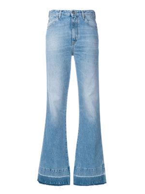 GOLDEN GOOSE: jeans a zampa - Jeans a zampa Giusy