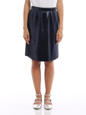 Golden Goose: Knee length skirts & Midi online - Goldie pleated metallic skirt