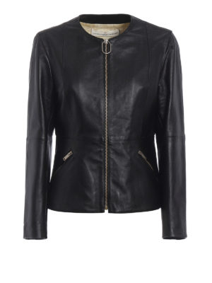 Golden Goose: leather jacket - Santana leather jacket