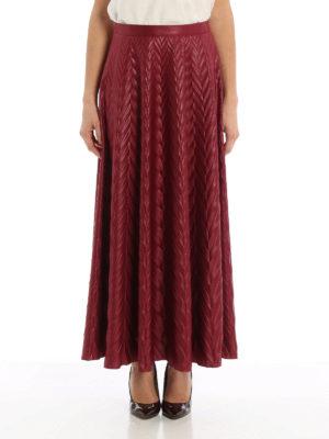 Golden Goose: Long skirts online - Zephir embossed maxi skirt
