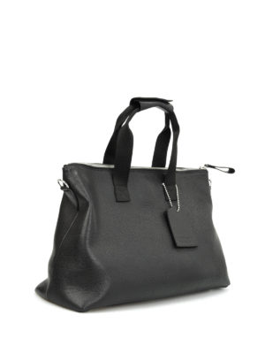 Golden Goose: Luggage & Travel bags online - Grained leather travel bag