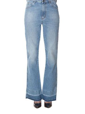 GOLDEN GOOSE: jeans a zampa online - Jeans a zampa Giusy