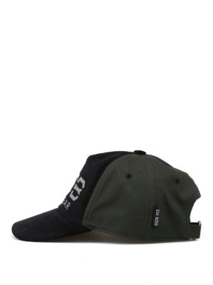 GOLDEN GOOSE: cappelli online - Cappellino Mike in velluto a coste