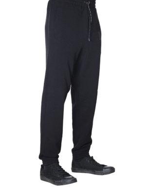 GOLDEN GOOSE: pantaloni sport online - Pantaloni della tuta Sam neri