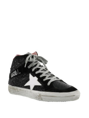 GOLDEN GOOSE: sneakers online - Sneaker 2.12 in pelle e glitter