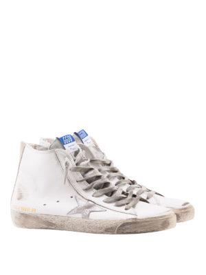 GOLDEN GOOSE: sneakers online - Sneaker Francy con stella grigia