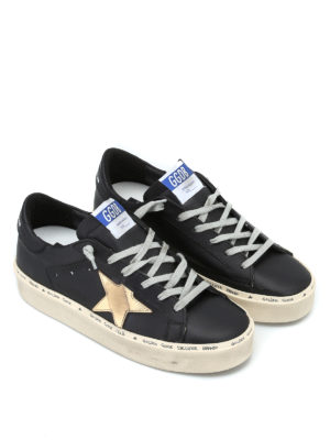 GOLDEN GOOSE: sneakers online - Sneaker Hi Star pelle glossy con maxi suola