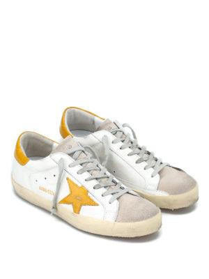 GOLDEN GOOSE: sneakers online - Sneaker Superstar con stella gialla