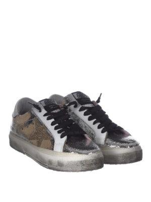 GOLDEN GOOSE: sneakers online - Sneaker May in pelle craquelé