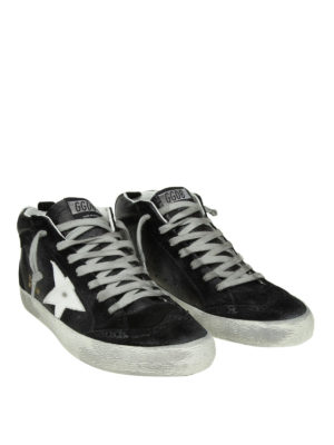 GOLDEN GOOSE: sneakers online - Sneaker Mid Star con dettagli brogue