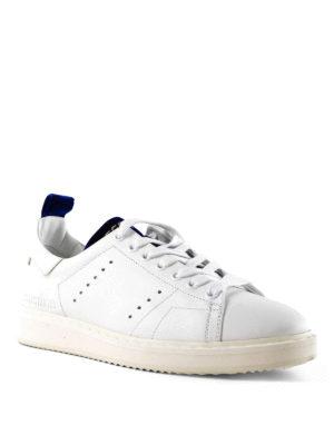 GOLDEN GOOSE: sneakers online - Sneaker Starter con inserti in velluto blu