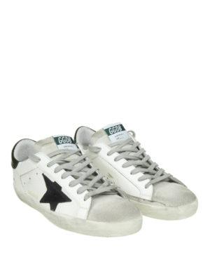 GOLDEN GOOSE: sneakers online - Sneaker Superstar con stella a contrasto