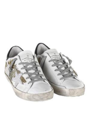 GOLDEN GOOSE: sneakers online - Sneakers superstar ricamate
