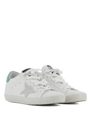 GOLDEN GOOSE: sneakers online - Sneaker Superstar talloncino verde