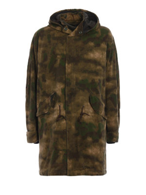 Golden Goose: parkas - Louis army style padded parka