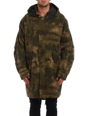 Golden Goose: parkas online - Louis army style padded parka