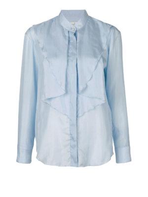 GOLDEN GOOSE: camicie - Camicia Nynpha in seta