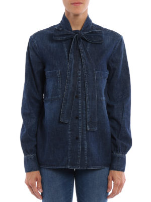 Golden Goose: shirts online - Chicago denim shirt