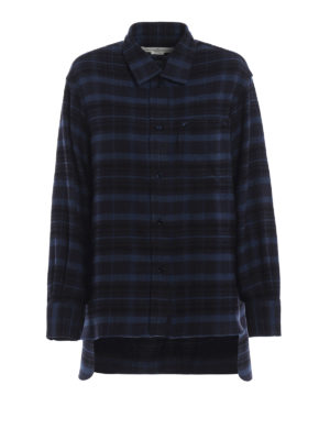 GOLDEN GOOSE: camicie - Camicia Ripa in flanella di cotone tartan