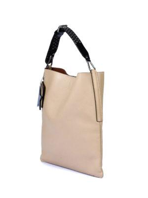 Golden Goose: shoulder bags online - Carry Over beige hobo bag