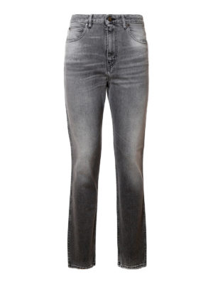 Golden Goose: straight leg jeans - Faded jeans