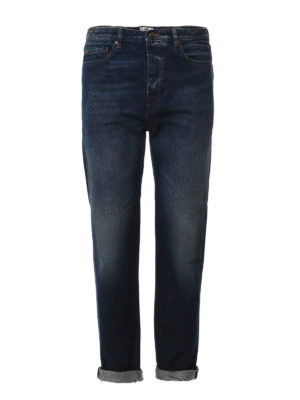 Golden Goose: straight leg jeans - Golden Happy loose fit jeans