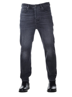 Golden Goose: straight leg jeans online - Golden Happy cotton denim jeans
