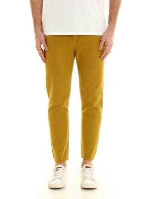Golden Goose: straight leg jeans online - Straight leg pure cotton jeans