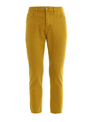 Golden Goose: straight leg jeans - Straight leg pure cotton jeans