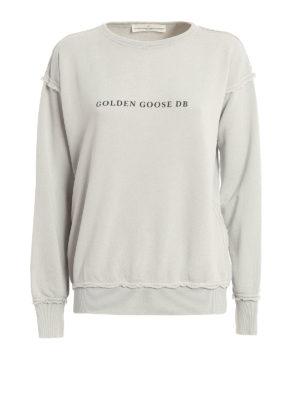 Golden Goose: Sweatshirts & Sweaters - Dolphin oversize sweatshirt