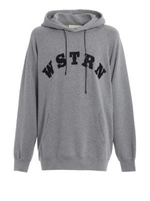 Golden Goose: Sweatshirts & Sweaters - Egg-shape grey cotton hoodie