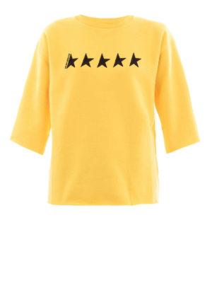 Golden Goose: Sweatshirts & Sweaters - Liliana GGDB embroidery sweatshirt